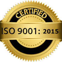 Usinagem certificada ISO 9001 2020